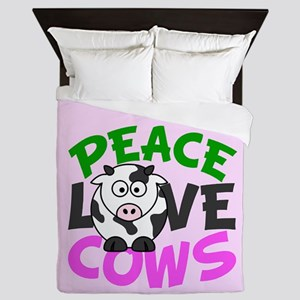 Love Cows Queen Duvet