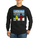 Exploring the Outdoors Long Sleeve Dark T-Shirt