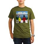 Exploring the Outdoor Organic Men's T-Shirt (dark)