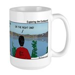Exploring the Outdoors Large Mug