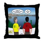 Exploring the Outdoors Throw Pillow