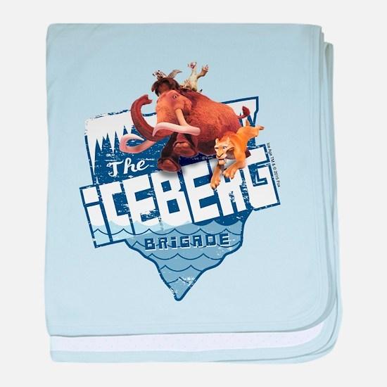 The Iceberg Brigade baby blanket