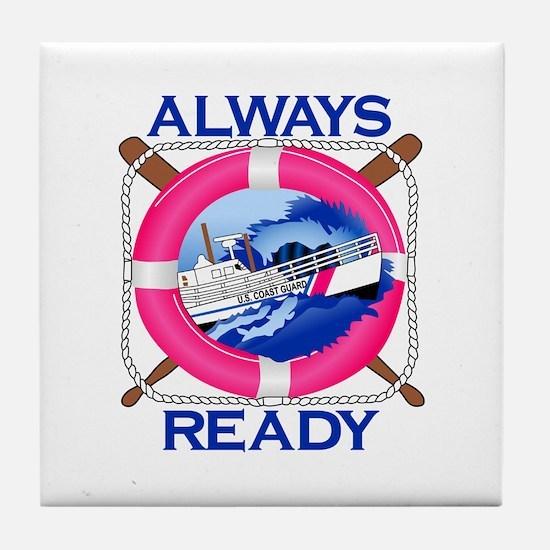 Always Ready Tile Coaster