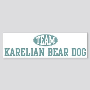 Team Karelian Bear Dog Bumper Sticker