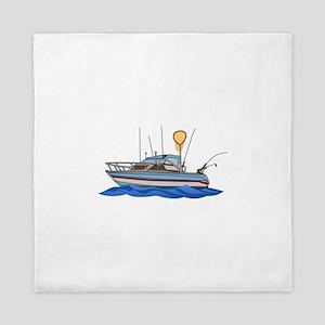 Fishing Boat Queen Duvet