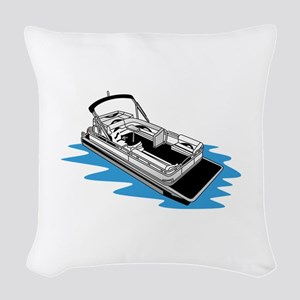 Pontoon Woven Throw Pillow