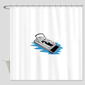 Pontoon Shower Curtain