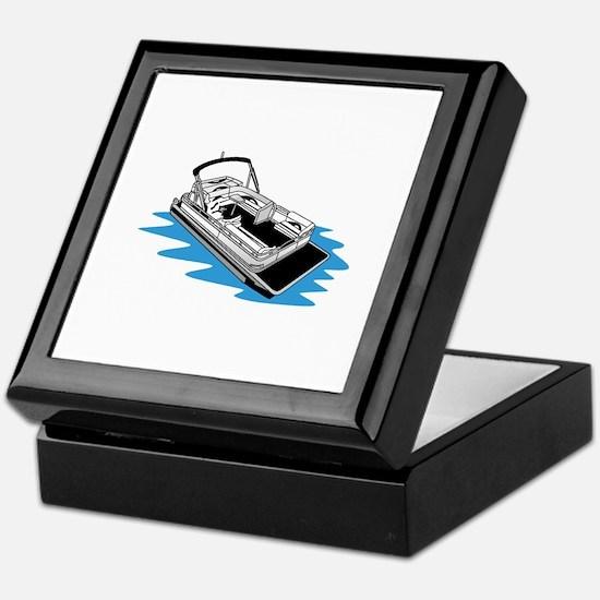 Pontoon Keepsake Box