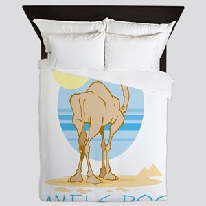 Camels Rock Queen Duvet