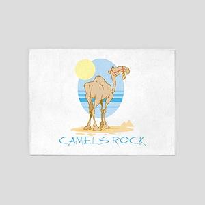 Camels Rock 5'x7'Area Rug