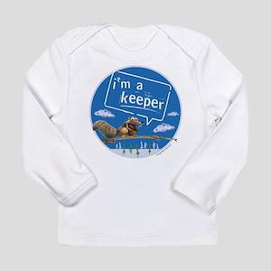 Ice Age I'm a Keeper Long Sleeve Infant T-Shirt