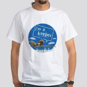Ice Age I'm a Keeper White T-Shirt
