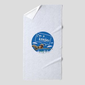 Ice Age I'm a Keeper Beach Towel