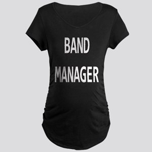 Manager Maternity Dark T-Shirt