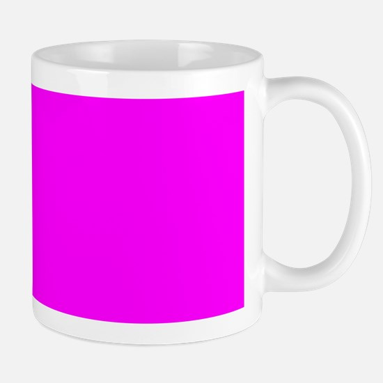 Solid Magenta Mugs