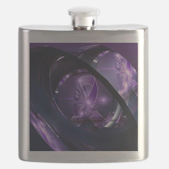 Cute Awareness Flask