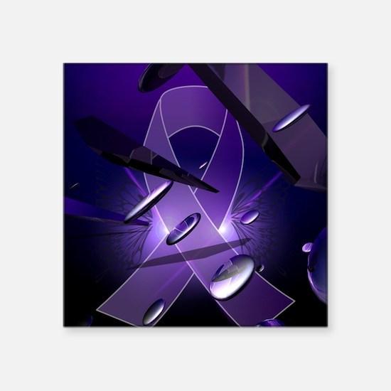 """M.e awareness Square Sticker 3"""" x 3"""""""