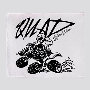 QUAD 4x4 Off Road Edition Throw Blanket