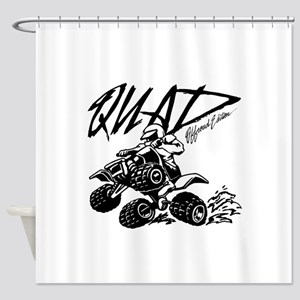 QUAD 4x4 Off Road Edition Shower Curtain