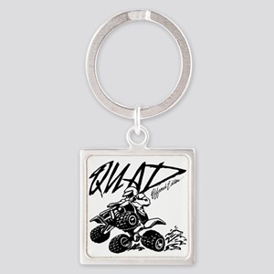 QUAD 4x4 Off Road Edition Square Keychain
