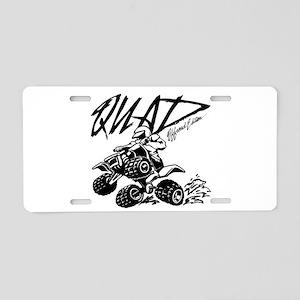 QUAD 4x4 Off Road Edition Aluminum License Plate