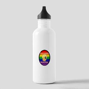 Stay Golden Brony Boy Water Bottle