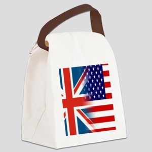 USA/UK Canvas Lunch Bag