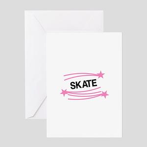 Skate Greeting Cards