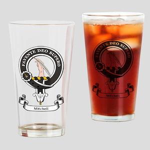 Badge-Mitchell Drinking Glass