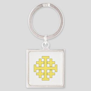 Jerusalem Cross Keychains