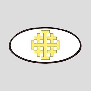 Jerusalem Cross Patch