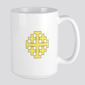 Jerusalem Cross Mugs