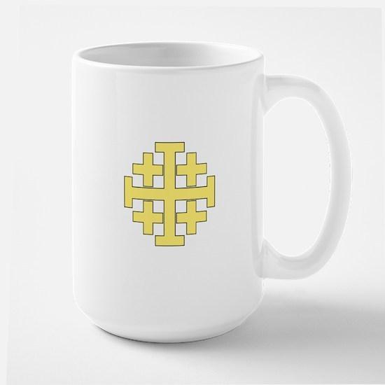 Jerusalem Cross Mugs