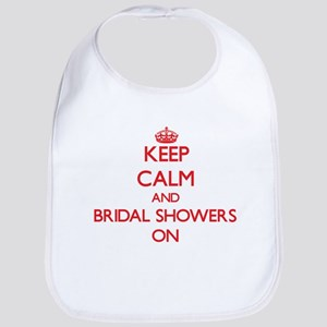 Keep Calm and Bridal Showers ON Bib