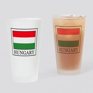 Hungary Drinking Glass