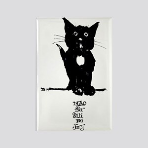 Cat by Doeberl Rectangle Magnet