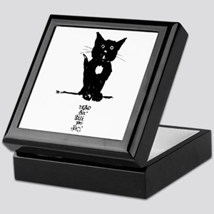 Cat by Doeberl Trinket Box