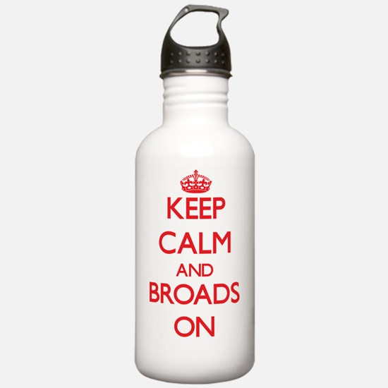 Keep Calm and Broads O Water Bottle