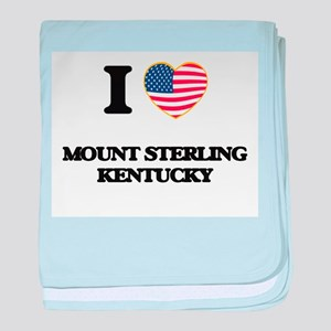 I love Mount Sterling Kentucky baby blanket