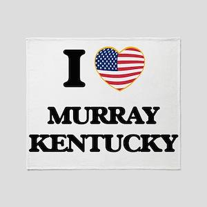 I love Murray Kentucky Throw Blanket