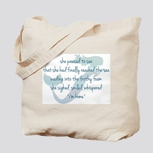 Mermaid Watercolor Tote Bag