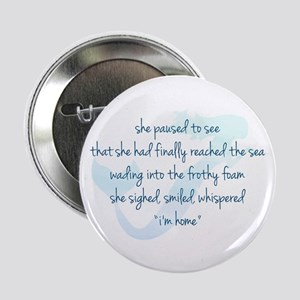 """Mermaid Watercolor 2.25"""" Button (10 pack)"""