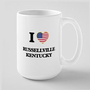 I love Russellville Kentucky Mugs