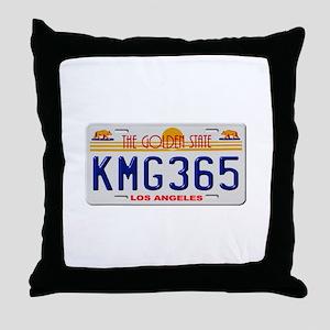 KMG365 Los Angeles Throw Pillow