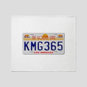 KMG365 Los Angeles Throw Blanket