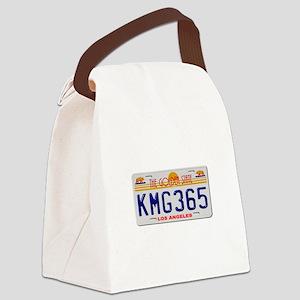 KMG365 Los Angeles Canvas Lunch Bag