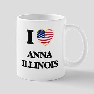 I love Anna Illinois Mugs