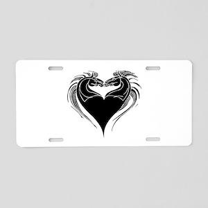 Horse Heart Kisses- Aluminum License Plate