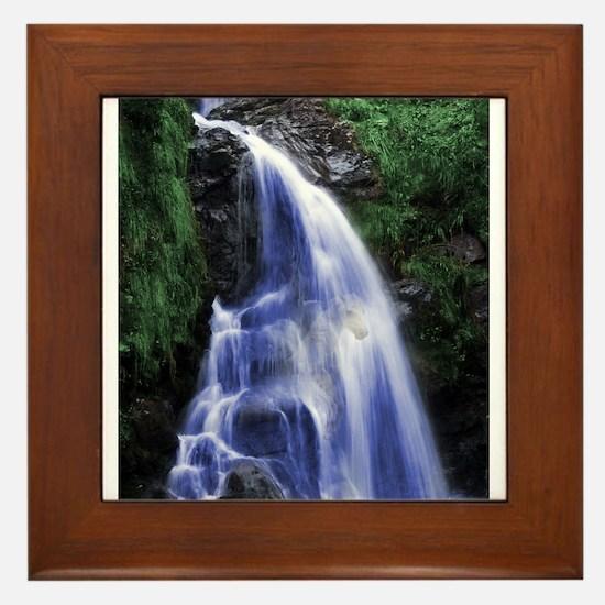 Magical Fury Waterfall Framed Tile