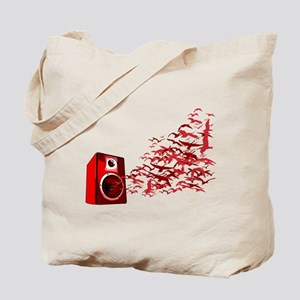 Fly away with the music Tote Bag